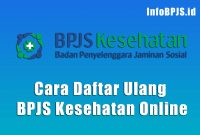 Cara Daftar Ulang BPJS Kesehatan Online