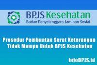 Prosedur Pembuatan Surat Keterangan Tidak Mampu Untuk BPJS Kesehatan